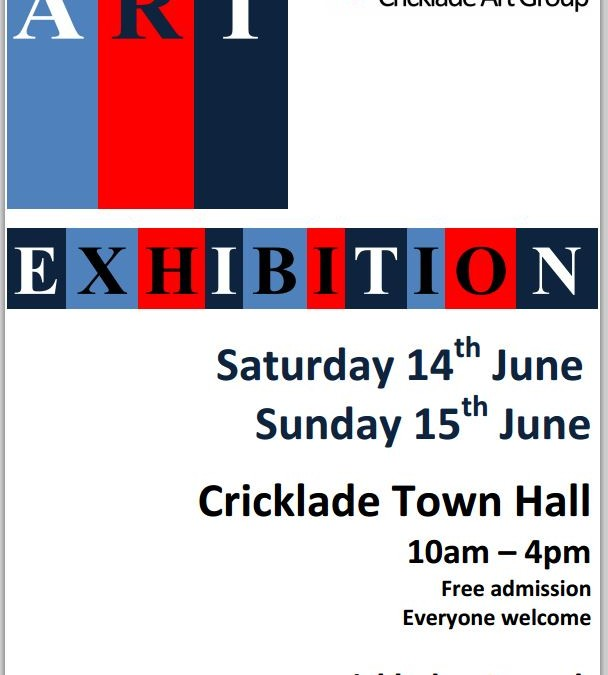 Cricklade Art group Exhibition – June 2014
