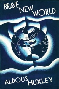 Brave New World Book Cover (Created by Leslie Holland)