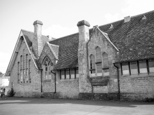 Carol Gleed - St Mary's old school buildings