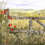 Christine Gill - Poppy gate
