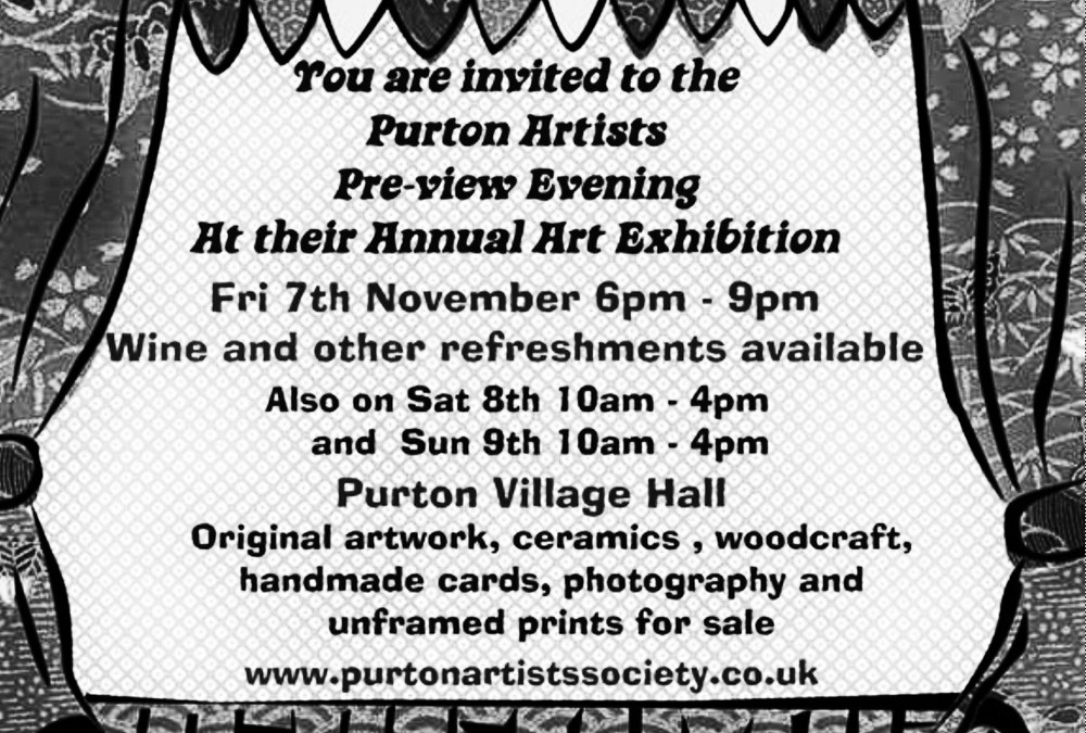 Purton village magazine cover – November 2014
