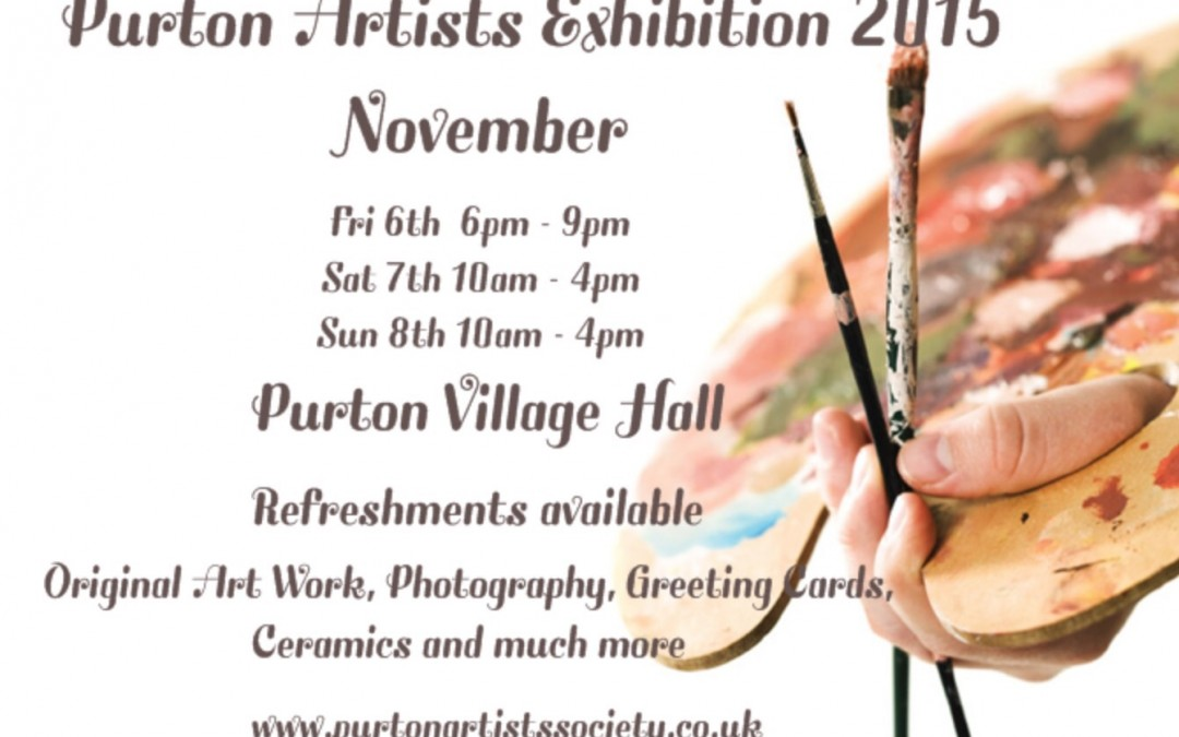 Purton Artists Society exhibiton – 2015