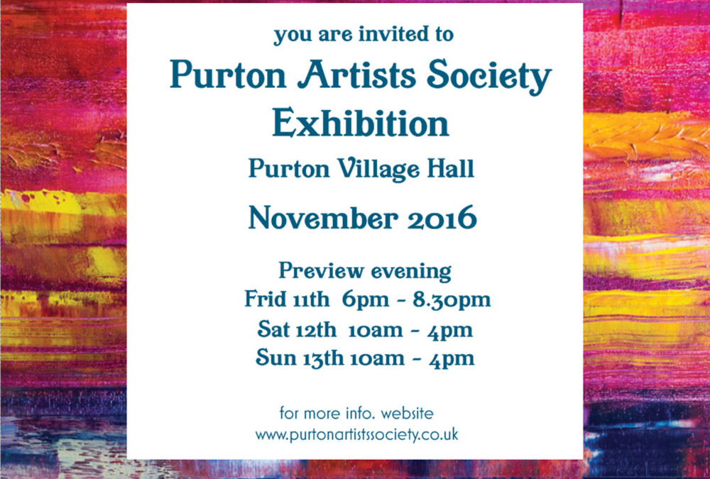 Purton Artists Society exhibiton – 2016